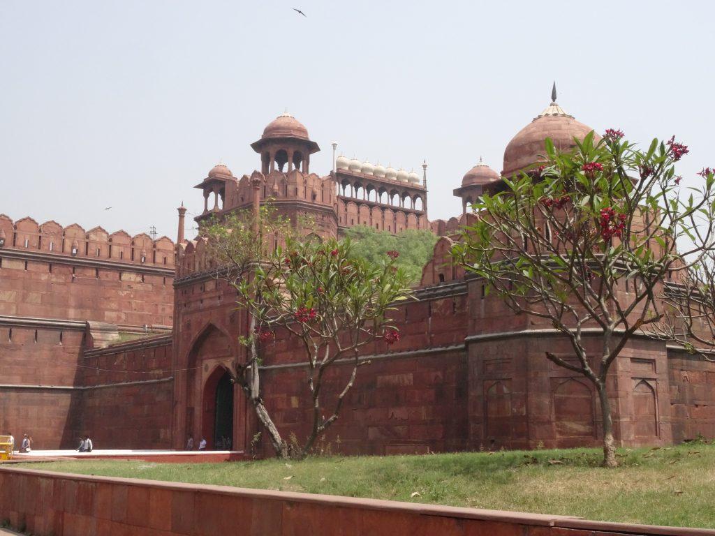 entrée principale du Fort Rouge - Delhi