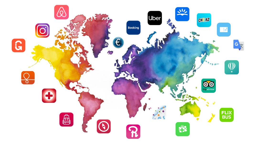 20 applis mobile pour voyager en 2020