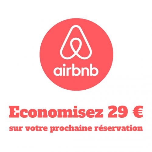 economisez 29 euros sur votre prochaine réservation sur AirBnB