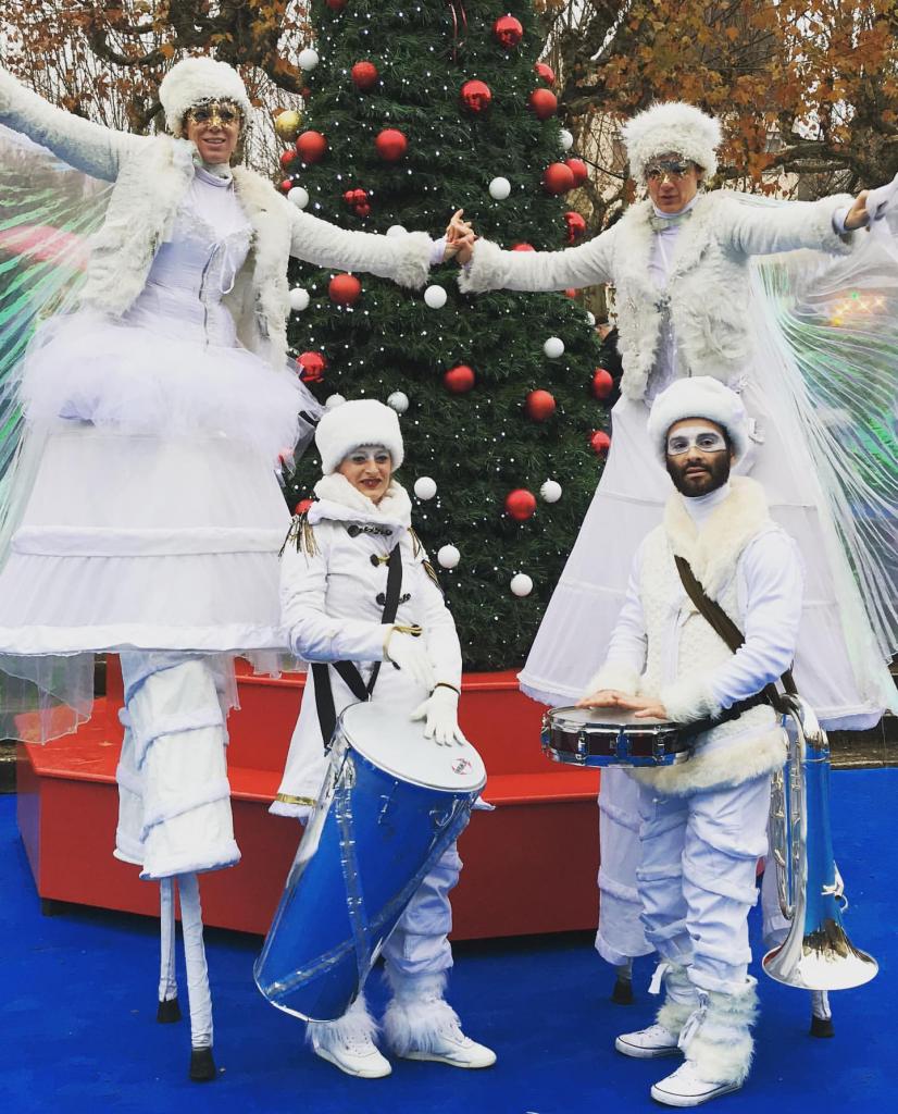 Activités au marché de Noël de Sarlat