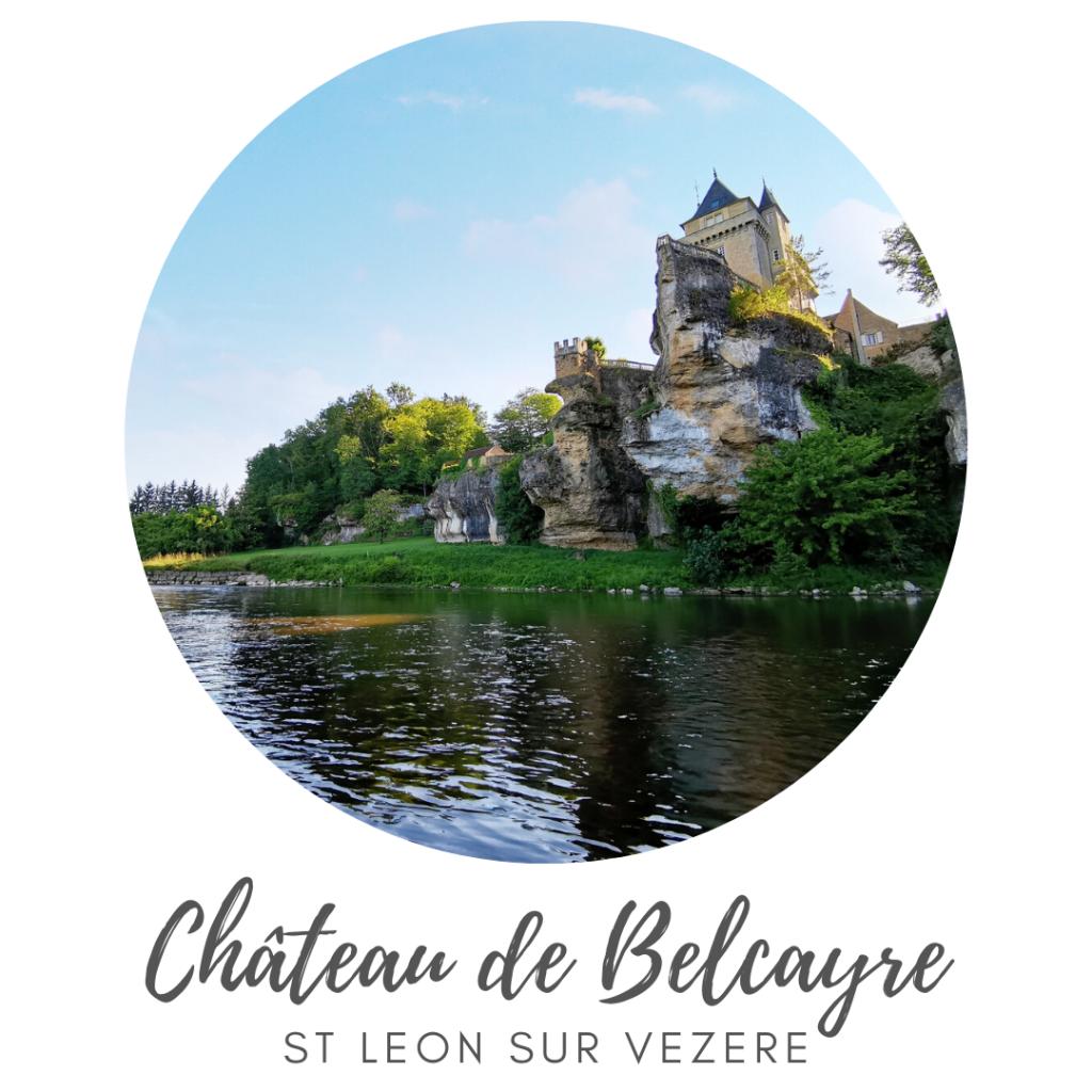vue du chateau depuis la Vézère